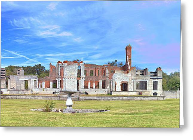 Dungeness Ruins Greeting Card