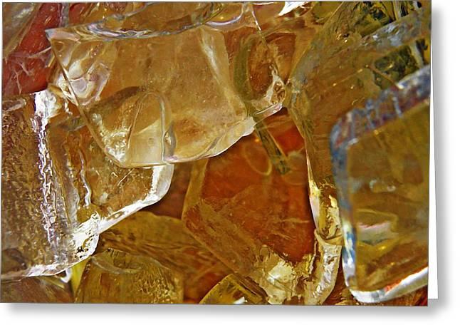 Dunkin Ice Coffee 7 Greeting Card by Sarah Loft