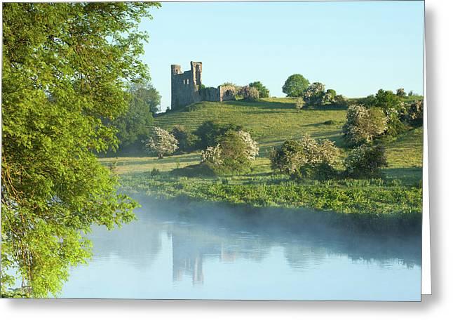 Dunmoe Castle -co Meath Ireland Greeting Card