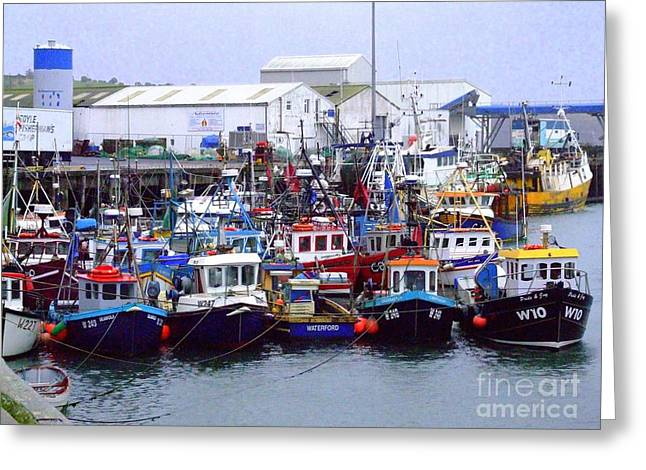 Dunmore East Greeting Card