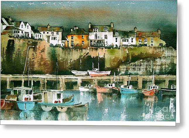 Dunmore East, Waterford Greeting Card