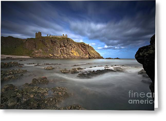 Dunnottar Castle Greeting Card by Roddy Atkinson