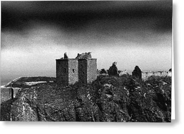 Dunnottar Castle Scotland Greeting Card by Donald Buchanan