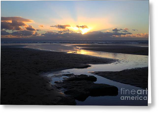 Dunraven Or Southerndown Bay South Wales Greeting Card