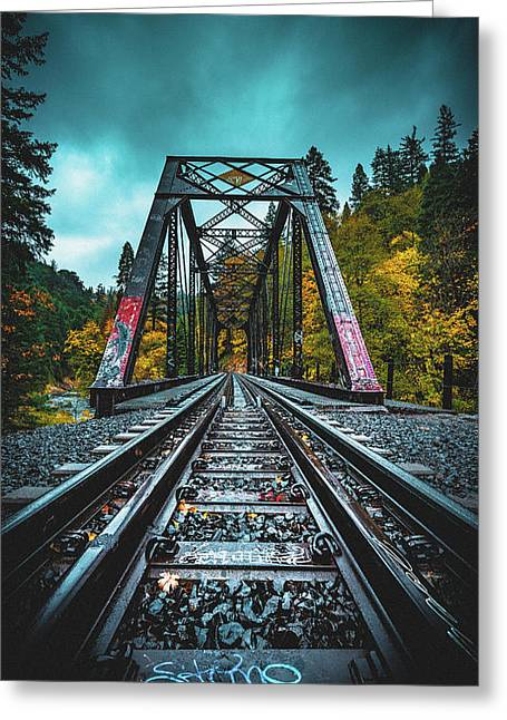 Dunsmir Bridge Greeting Card