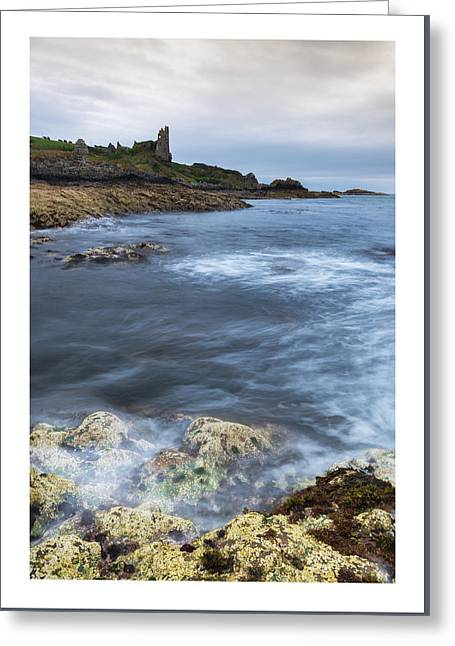 Dunure Castle Scotland  Greeting Card