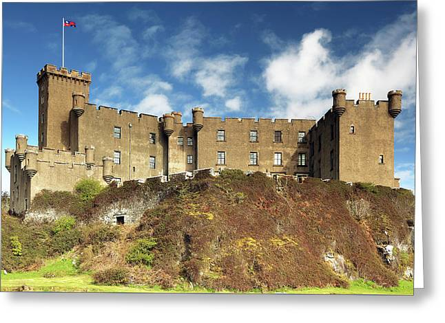 Greeting Card featuring the photograph Dunvegan Castle by Grant Glendinning