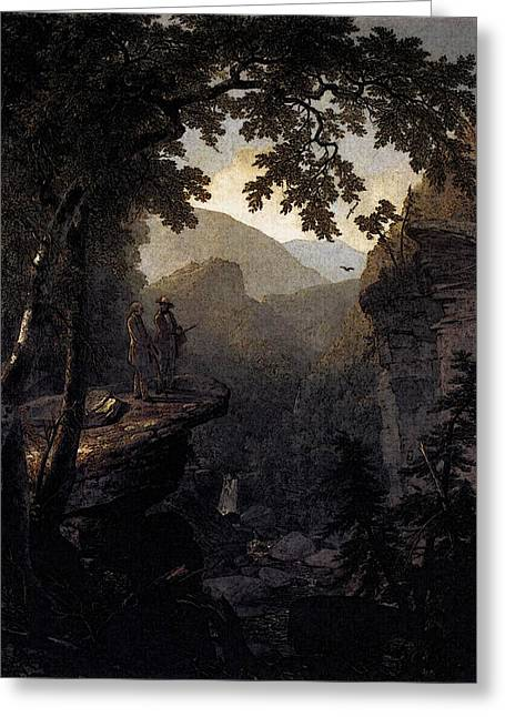 Durand Asher Brown Kindred Spirits Greeting Card by Asher Brown Durand
