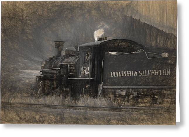 Durango And Silverton Train 2 Greeting Card