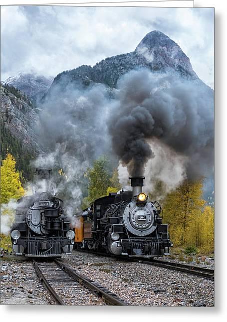 Durango Silverton Train Greeting Card