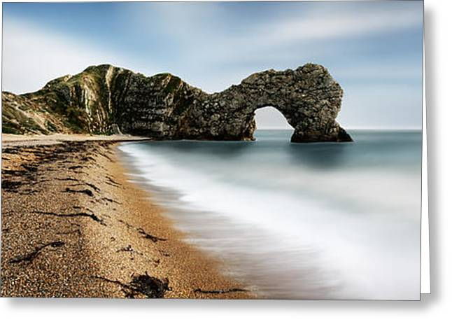 Durdle Door Greeting Card by Rod McLean