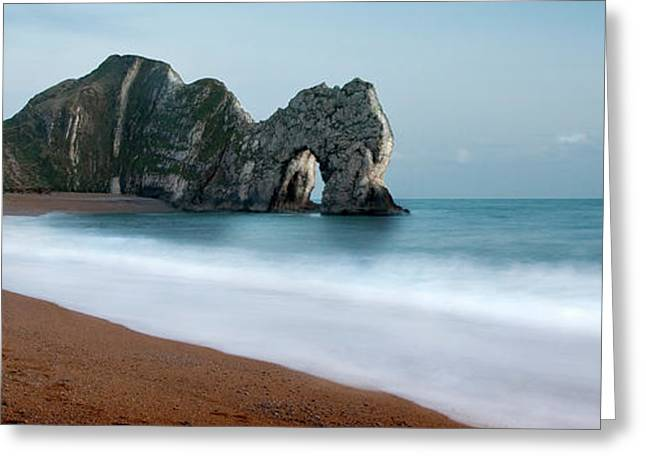 Durdle Door Greeting Card by Anthony Dudley & Durdle Door Photograph by Anthony Dudley