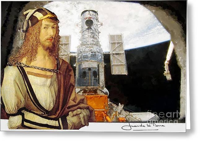 Durero At The Atlantis  Greeting Card by Art Gallery