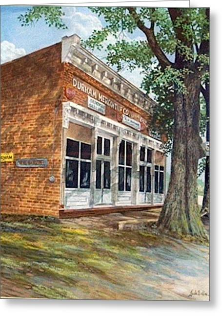 Durham Mercantile  Sold Greeting Card