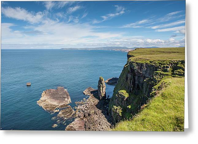 Greeting Card featuring the photograph Handa Island - Sutherland by Pat Speirs