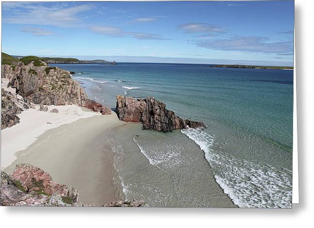 Greeting Card featuring the photograph Durness - Sutherland by Pat Speirs