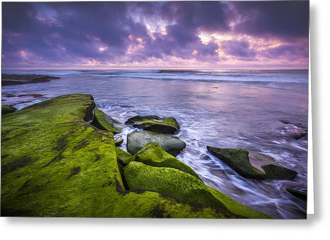 Dusk Calm Greeting Card by Peter Tellone