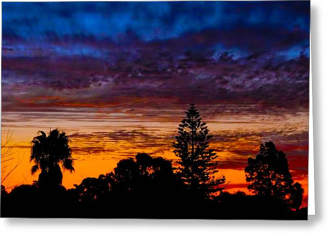 Greeting Card featuring the photograph Dusky by Mark Blauhoefer