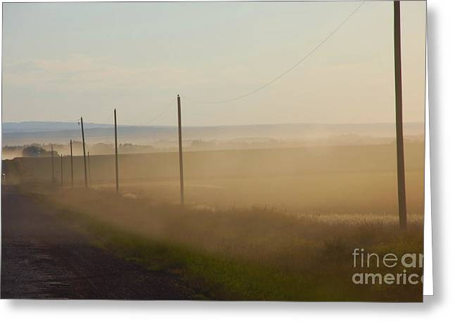 Dust Bowl Greeting Card by Elaine Manley
