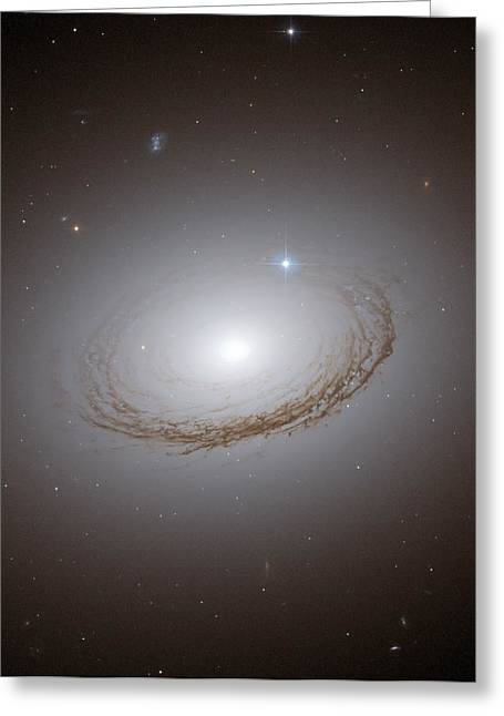 Dust Lanes Of A Globular Cluster Galaxy  Greeting Card by Jpl
