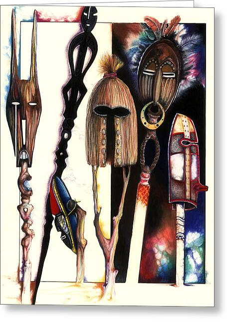 Dust To Dawn Greeting Card by Anthony Burks Sr