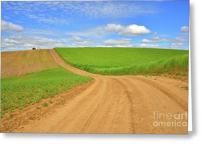 Dusty Roads Greeting Card