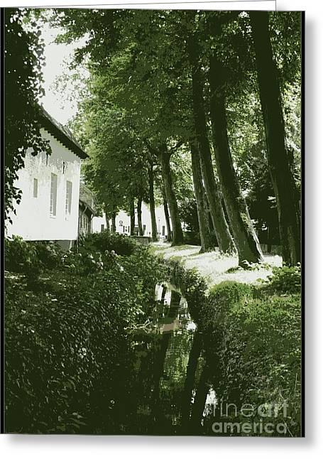 Dutch Canal - Digital Greeting Card