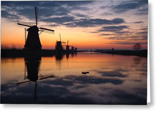 Dutch Colors Greeting Card