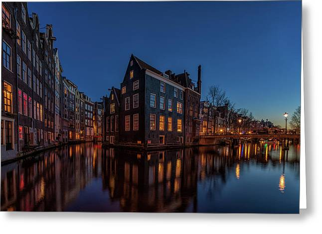 Dutch Corner Greeting Card by Reinier Snijders