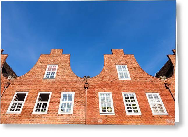Dutch Quarter In Potsdam Greeting Card by Werner Dieterich