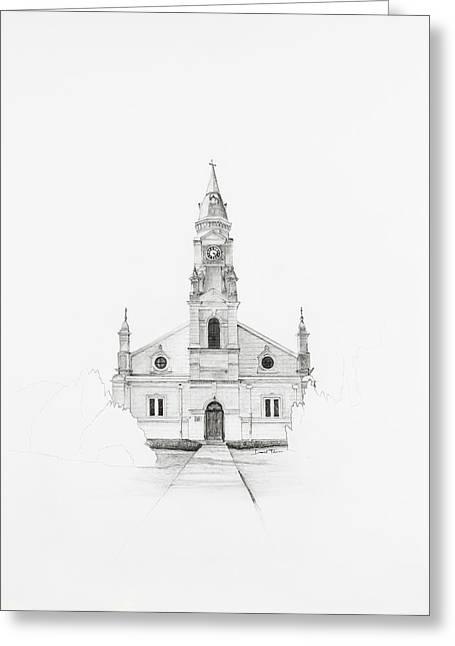 Dutch Reformed Church Pearston Greeting Card
