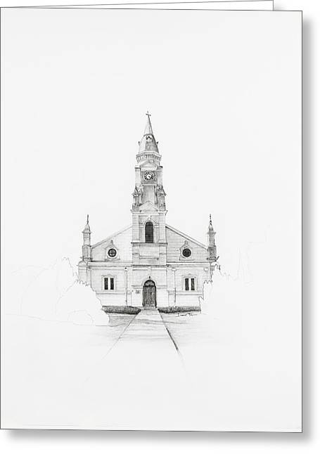 Dutch Reformed Church Pearston Greeting Card