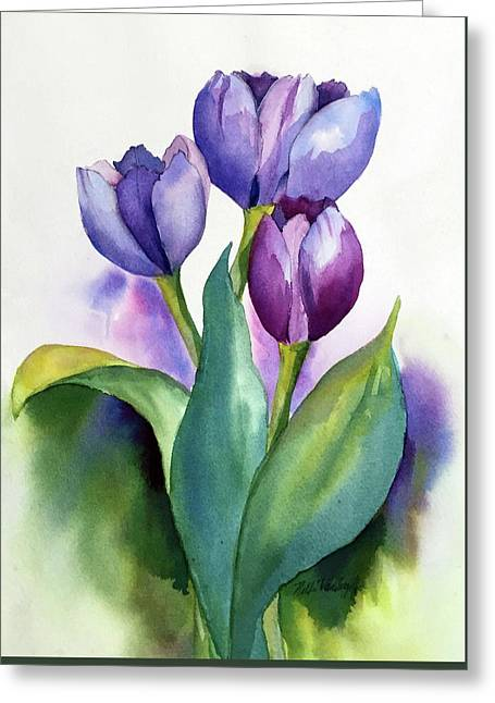 Dutch Tulips Greeting Card