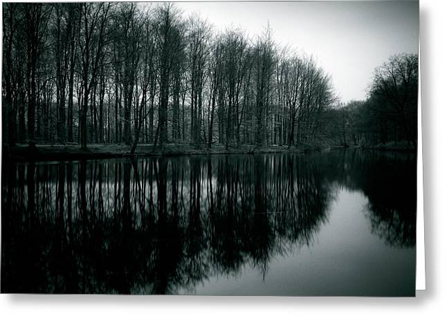 Netherlands Greeting Cards - Dutch Waters Greeting Card by Dave Bowman