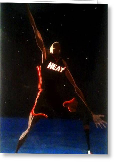 Dwade Eclipse  Greeting Card