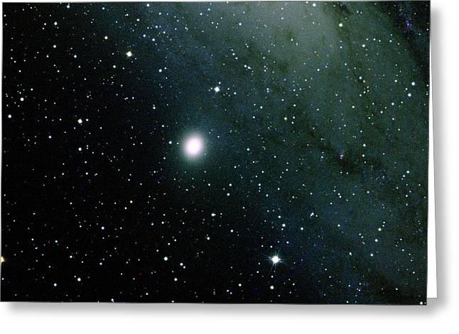 Dwarf Elliptical Galaxy, M32, Ngc 221 Greeting Card by Bill Schoening/Vanessa Harvey/REU Program/NOAO/AURA/NSF