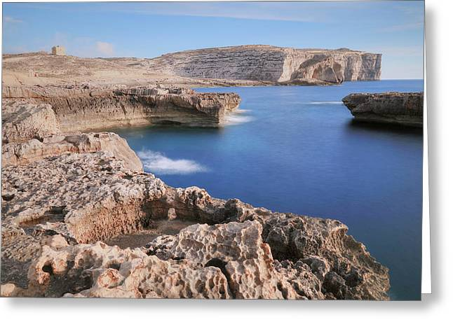 Dwejra Bay - Gozo Greeting Card