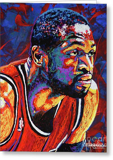 Dwyane Wade 3 Greeting Card