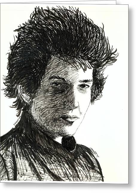 Dylan 1964 Greeting Card