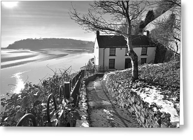 Dylan Thomas Boathouse 1b Greeting Card