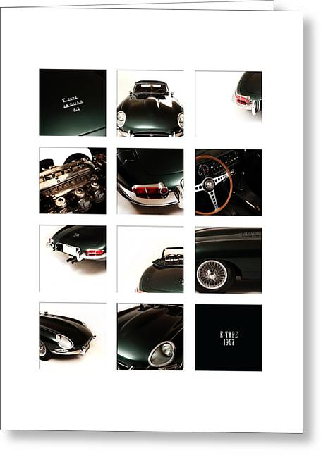 E-type 1967 Greeting Card