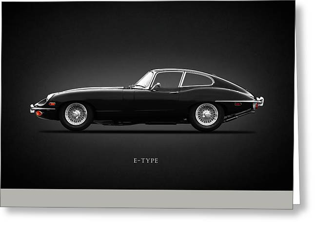 E-type 69 Greeting Card by Mark Rogan