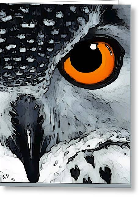 Eagle Art Greeting Card