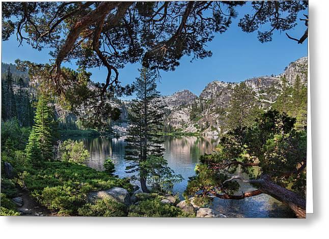 Eagle Lake - 2 Greeting Card