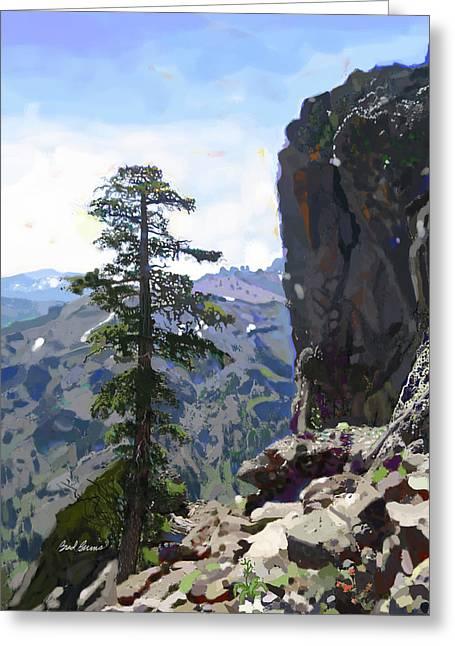 Eagle Peak Greeting Card