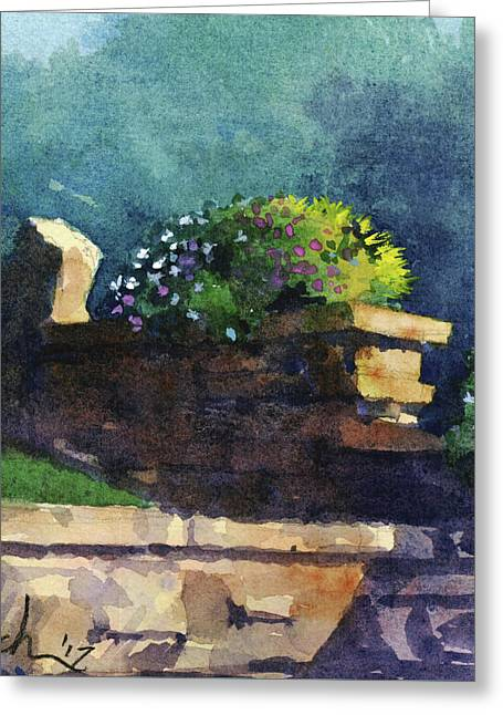 Eagle Point Planter Greeting Card