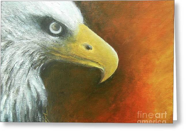 Eagle Spirit - Strength Greeting Card