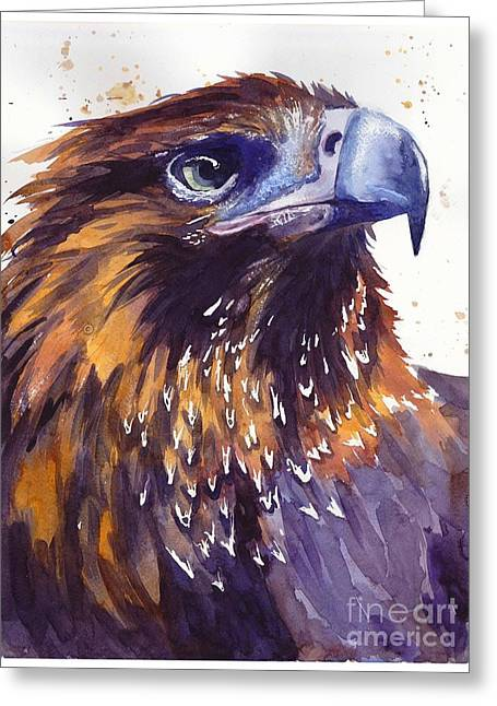 Eagle's Head Greeting Card