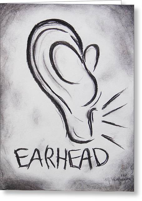 Earhead Greeting Card