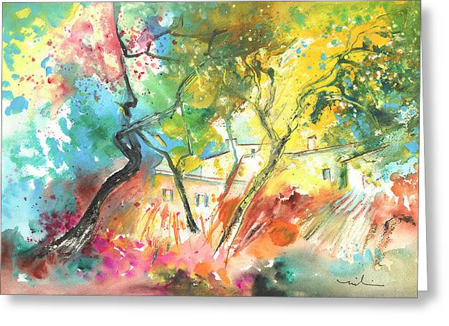 Early Afternoon 26 Greeting Card by Miki De Goodaboom